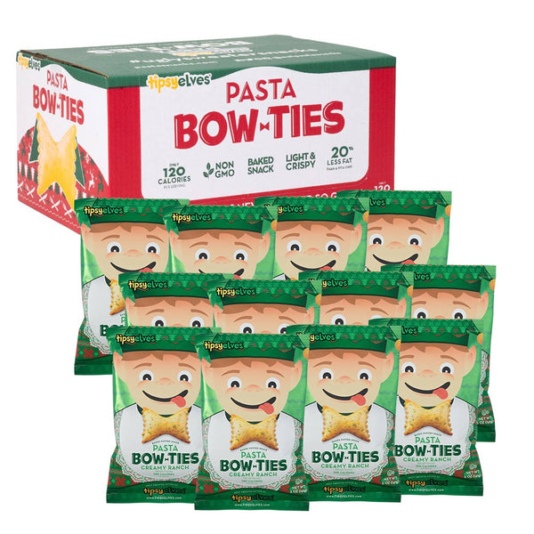 Pasta Bow Ties Ugly Sweater Holiday Party - Creamy Ranch 12-pack (5oz.)