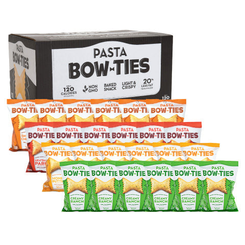 Snack Size Bow Ties Variety 24-Pack