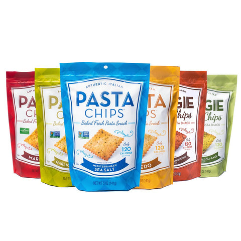 Pasta Chips Share Size Sampler (6-pack)