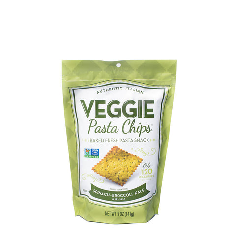 Spinach Broccoli Kale Veggie Pasta Chips - 5oz.