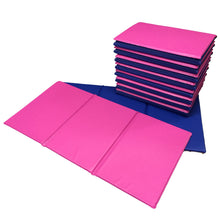 Pink/Blue Best Selling Triple Folding Sleep Mats