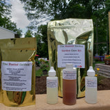 **Garden Care Kit** DOUBLE NEEM OIL 8 oz, Peppermint Oil, Rosemary Oil and Calcium Nitrate