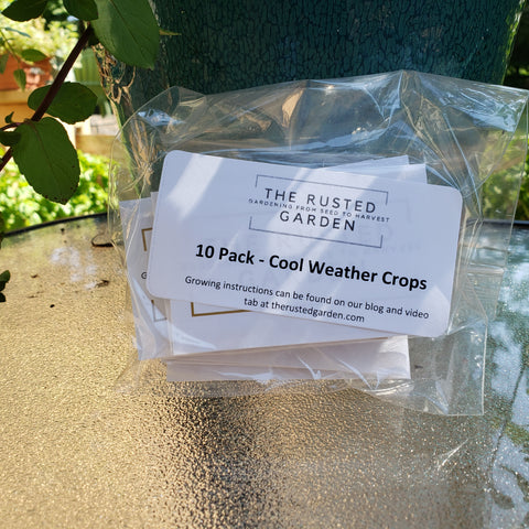 10 Pack - Cool Weather Crops