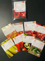 Bentley Tomato and Pepper Package - 8 Different Varieties!