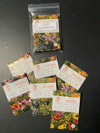 Bentley Flower Seeds: Wildflower Mix - 6 Individual Seed Packs, All Different!