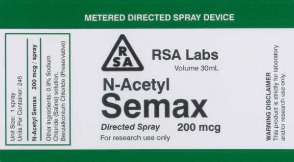 N-Acetyl Semax - Directed Liquid Spray