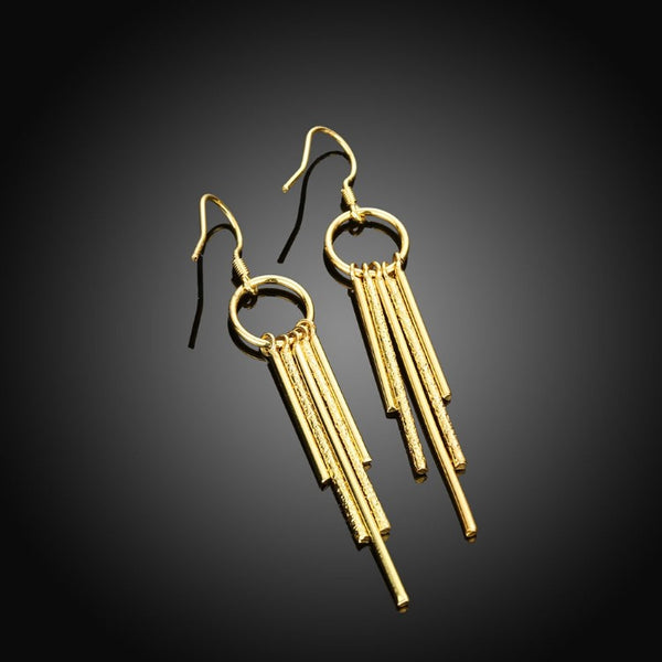 Golden NYC 18K Gold Plated Wind chimes Drop Earrings, Earring, Golden NYC Jewelry, Golden NYC Jewelry fashion jewelry, cheap jewelry, jewelry for mom,