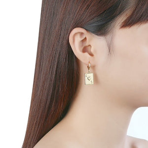 10 of Hearts Drop Earrings, Earring, Golden NYC Jewelry, Golden NYC Jewelry  jewelryjewelry deals, swarovski crystal jewelry, groupon jewelry,, jewelry for mom,