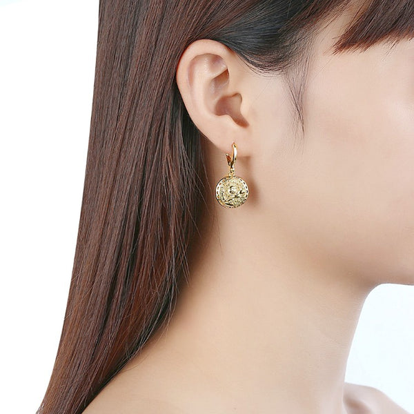Sun Drop Earrings - Golden NYC Jewelry www.goldennycjewelry.com fashion jewelry for women