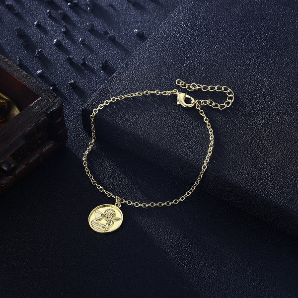 Angel From Above Bracelet in 18K Gold Plated, Gold Collection, Bracelet, Gold, Golden NYC Jewelry, Golden NYC Jewelry fashion jewelry, cheap jewelry, jewelry for mom,