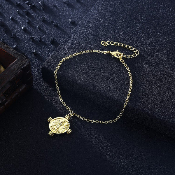 Greek Coin Caeser Bracelet in 18K Gold Plated, Gold Collection, Bracelet, Gold, Golden NYC Jewelry, Golden NYC Jewelry fashion jewelry, cheap jewelry, jewelry for mom,