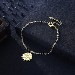 Circle of Life Bracelet in 18K Gold Plated, Gold Collection, Bracelet, Gold, Golden NYC Jewelry, Golden NYC Jewelry fashion jewelry, cheap jewelry, jewelry for mom,