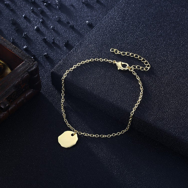 Classic Coin Bracelet in 18K Gold Plated, Gold Collection, Bracelet, Gold, Golden NYC Jewelry, Golden NYC Jewelry fashion jewelry, cheap jewelry, jewelry for mom,