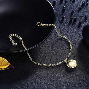 Swarovski Cresent Moon & Star Bracelet in 18K Gold Plated - Golden NYC Jewelry www.goldennycjewelry.com fashion jewelry for women