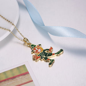 Luck Charm Necklace in 18K Gold Plated