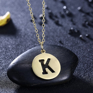 Kindness Disc Necklace in 18K Gold Plated, Gold Collection, Necklace, Gold, Golden NYC Jewelry, Golden NYC Jewelry fashion jewelry, cheap jewelry, jewelry for mom,