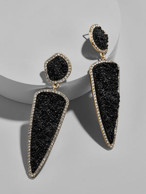 Moonlight Drop Earrings - Golden NYC Jewelry www.goldennycjewelry.com fashion jewelry for women