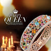 Bregenz Rainbow of Life Bangle in 18K Rose Gold Plated
