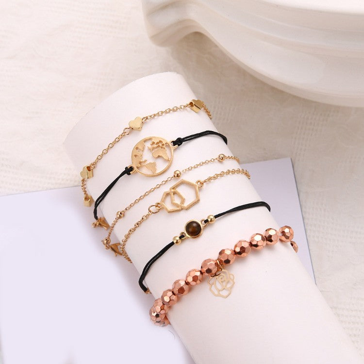Chemist Around the World Rose Gold 6 Piece Set