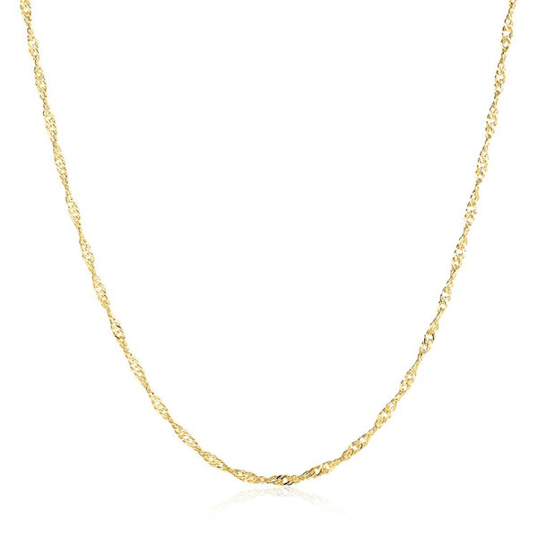 14K Gold Plated Chain Necklace - Golden NYC Jewelry www.goldennycjewelry.com fashion jewelry for women