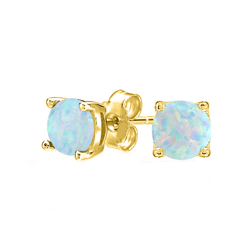 1.55 CTTW Oceanic Opal Classic Studs in 18K Gold Plating (Multiple Options), , Golden NYC Jewelry, Golden NYC Jewelry  jewelryjewelry deals, swarovski crystal jewelry, groupon jewelry,, jewelry for mom,