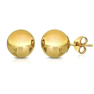 6mm Classic Ball Stud Earring - 14K Gold Plated, Earring, Golden NYC Jewelry, Golden NYC Jewelry  jewelryjewelry deals, swarovski crystal jewelry, groupon jewelry,, jewelry for mom,
