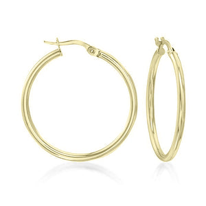 "1.5"" Classic Round Hoop Earringin 18K Gold Plated, Earring, Golden NYC Jewelry, Golden NYC Jewelry  jewelryjewelry deals, swarovski crystal jewelry, groupon jewelry,, jewelry for mom,"