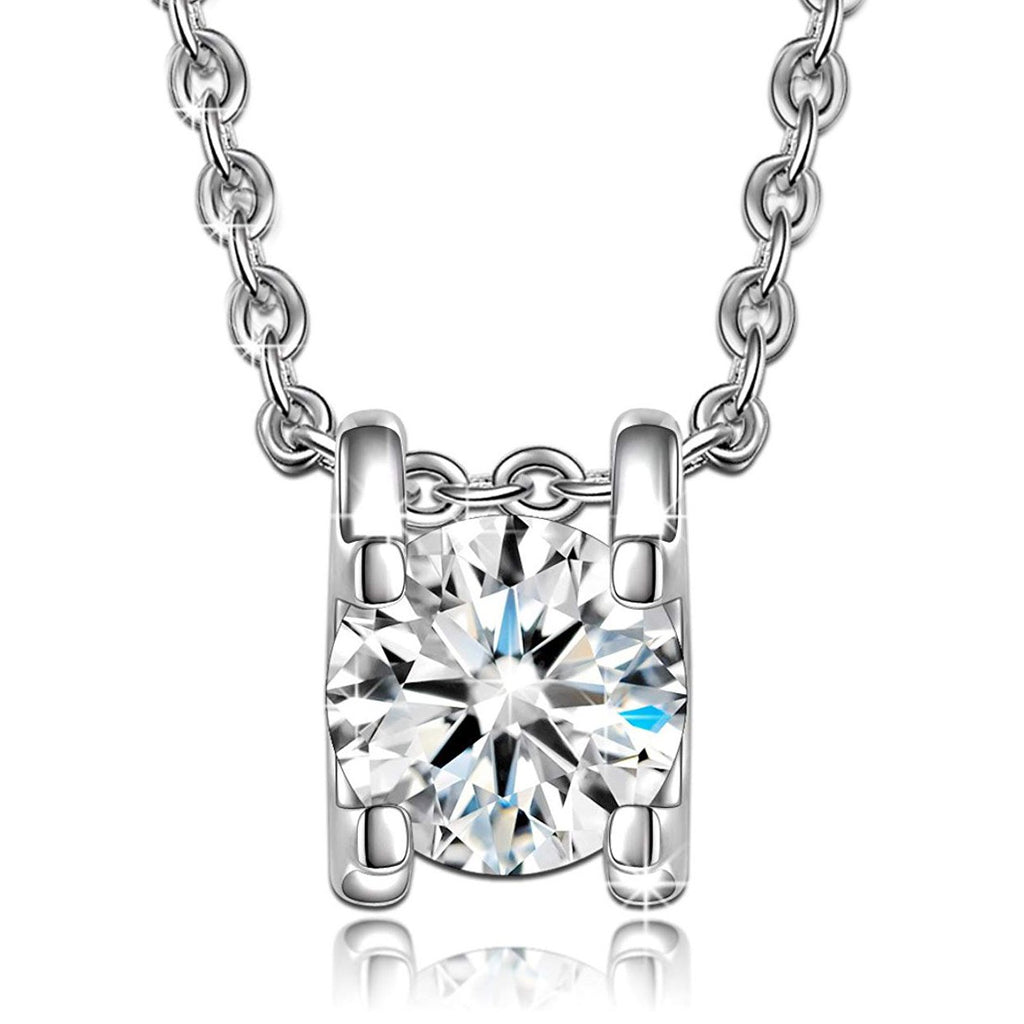 1.00 Ct Diamond Created Necklace