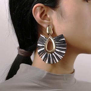 Fringe Drop Earring 18K Gold Plated Earring in 18K Gold Plated