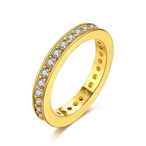 18K GoldClassic Pav'e Midi Ring, , Golden NYC Jewelry, Golden NYC Jewelry  jewelryjewelry deals, swarovski crystal jewelry, groupon jewelry,, jewelry for mom,