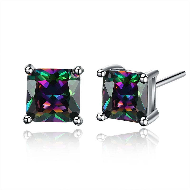 Classic Shaped Mystic Topaz Stud Earrings, Earring, Golden NYC Jewelry, Golden NYC Jewelry  jewelryjewelry deals, swarovski crystal jewelry, groupon jewelry,, jewelry for mom,