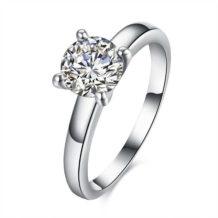 1.90 CTTW Princess Cut Solitaire Stone Ring Set in White Gold, , Golden NYC Jewelry, Golden NYC Jewelry fashion jewelry, cheap jewelry, jewelry for mom,