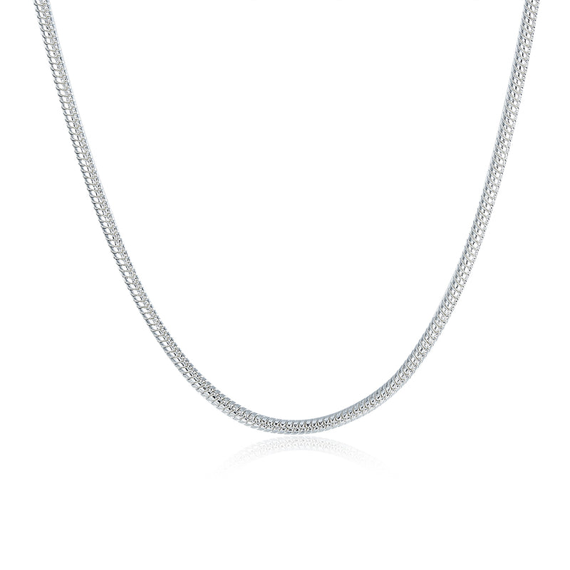 18K White Gold Plated  Thick Cut Chain Necklace, , Golden NYC Jewelry, Golden NYC Jewelry  jewelryjewelry deals, swarovski crystal jewelry, groupon jewelry,, jewelry for mom,