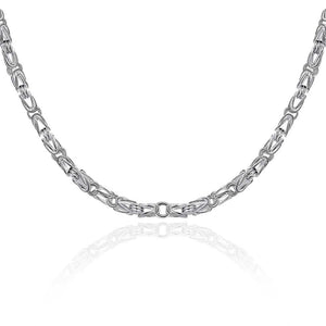 Classic Byzantine 5mm Chain Necklace, , Golden NYC Jewelry, Golden NYC Jewelry  jewelryjewelry deals, swarovski crystal jewelry, groupon jewelry,, jewelry for mom,
