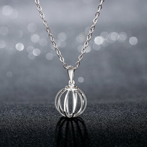 Beach Ball Necklace in 18K White Gold Plated, Necklace, Golden NYC Jewelry, Golden NYC Jewelry  jewelryjewelry deals, swarovski crystal jewelry, groupon jewelry,, jewelry for mom,