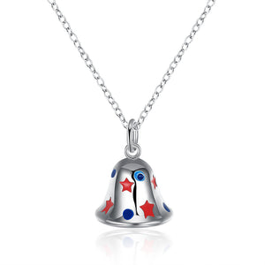 Christmas Theme Cute & Kitschy Necklaces in Silver Plating- Multiple Options Available