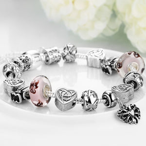 Real Love Is Everywhere Pandora Inspired Bracelet, Bracelet, GoldenNYCJewelry, Golden NYC Jewelry fashion jewelry, cheap jewelry, jewelry for mom,