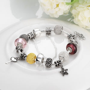 Treasures of the Sea Pandora Inspired Bracelet - Golden NYC Jewelry www.goldennycjewelry.com fashion jewelry for women