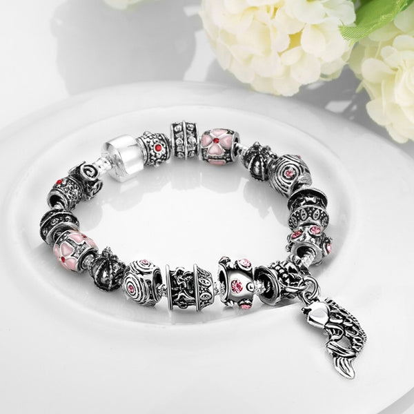 Creative Passion Essence Pandora Inspired Bracelet, Bracelet, GoldenNYCJewelry, Golden NYC Jewelry fashion jewelry, cheap jewelry, jewelry for mom,