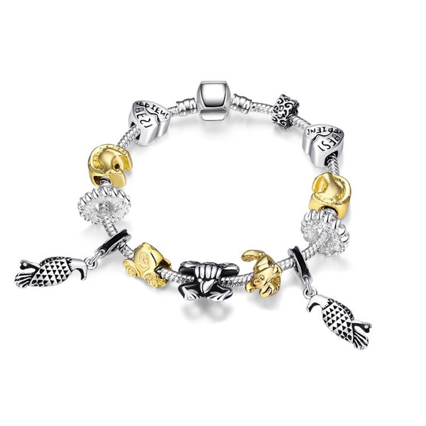 Animals of the Globe Designer Inspird Bracelet, Bracelet, GoldenNYCJewelry, Golden NYC Jewelry fashion jewelry, cheap jewelry, jewelry for mom,