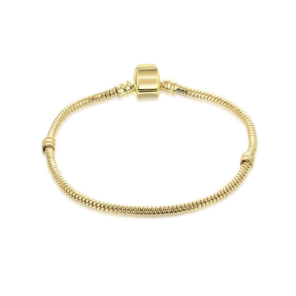 The Original Plain Gold Plated Bracelet - Golden NYC Jewelry www.goldennycjewelry.com fashion jewelry for women