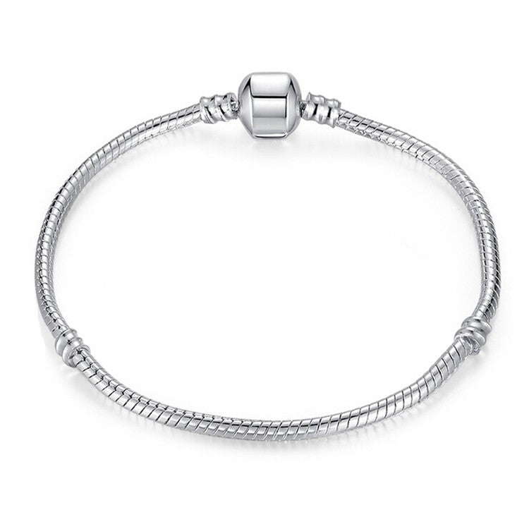 The Original Plain Silver Bracelet - Golden NYC Jewelry www.goldennycjewelry.com fashion jewelry for women