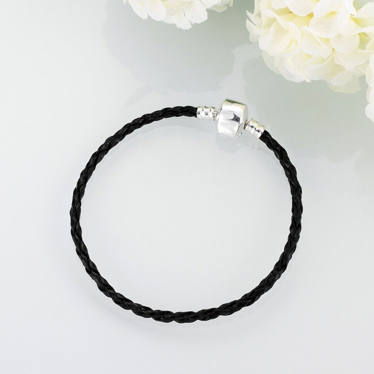 The Original Plain Vegan Leather Strap Bracelet - Golden NYC Jewelry www.goldennycjewelry.com fashion jewelry for women