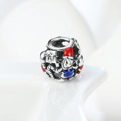 Sterling Silver Mystery Gift Box Charm - Golden NYC Jewelry Pandora Jewelry goldennycjewelry.com wholesale jewelry
