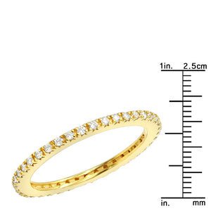 3mm Swarovski Crystal Band Ring 2 Colors Available, Rings, Golden NYC Jewelry, Golden NYC Jewelry  jewelryjewelry deals, swarovski crystal jewelry, groupon jewelry,, jewelry for mom,