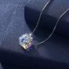 Sterling Silver Aurora Borealis Swarovski Elements Necklace- Two Options