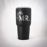 30 oz. Tumbler - Black Engraved