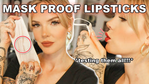 HOW TO MAKE YOUR LIPSTICKS TRANSFER PROOF *5 fall lipsticks in 5 minutes*