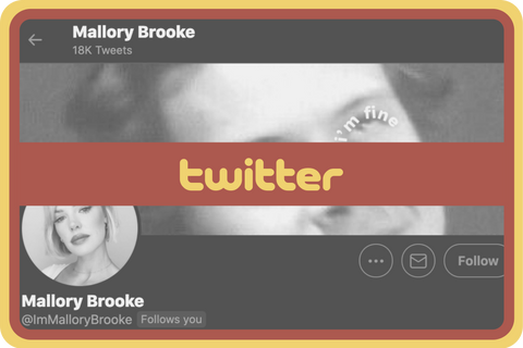 Connect with @immallorybrooke on twitter!