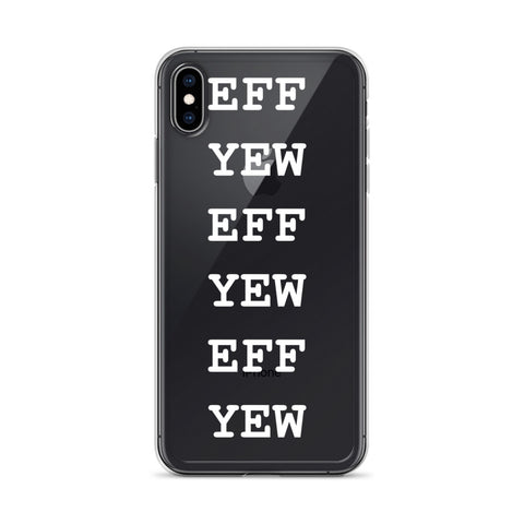 EFF YEW iPhone case for dark colored iPhones